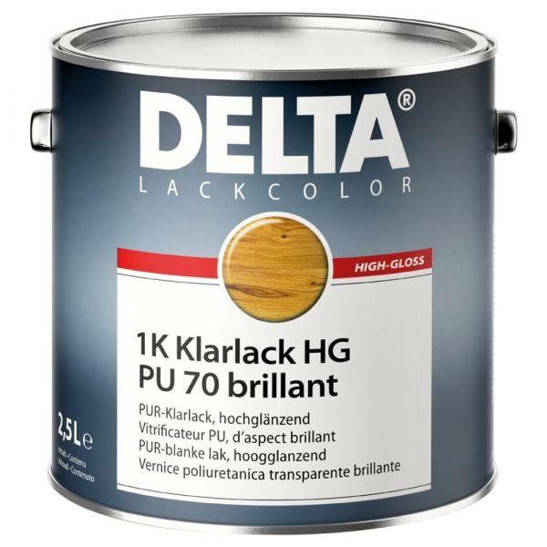 DELTA® 1K Klarlack HG / PU 70 brillant