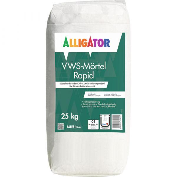 Alligator VWS-Mörtel Rapid – 25kg