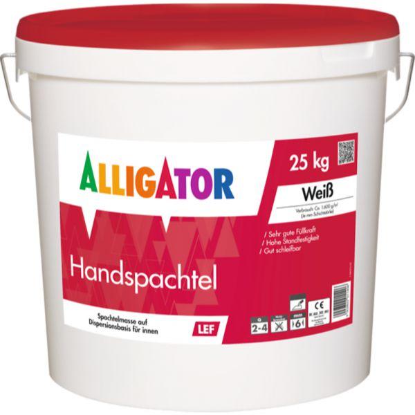Alligator Handspachtel LEF – 25kg