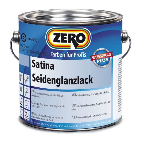 Zero Satina Seidenglanzlack