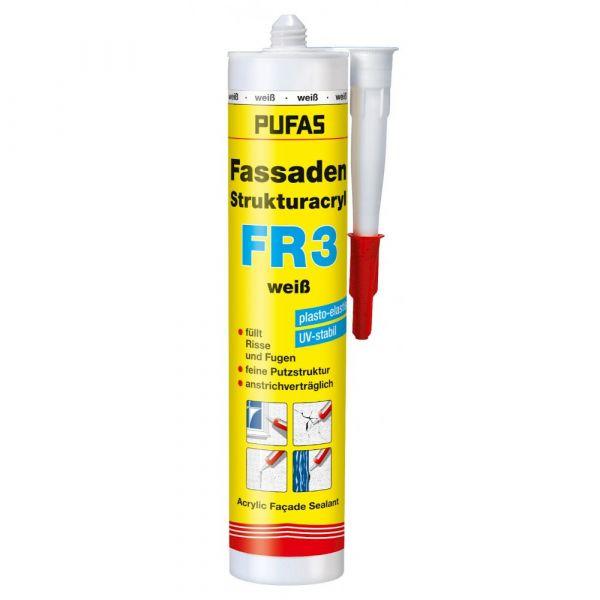Pufas Fassaden Strukturacryl FR3 – 310ml