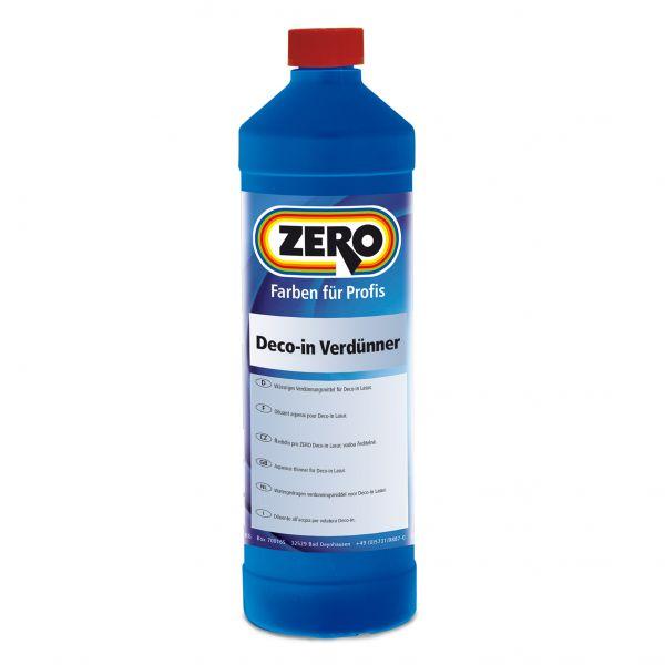 Zero DecoIn Verdünner – 1 Liter