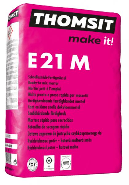 Thomsit E 21 M Schnellzementestrich-Fertigmörtel – 25kg