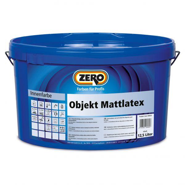 Zero Objekt Mattlatex – 12,5 Liter