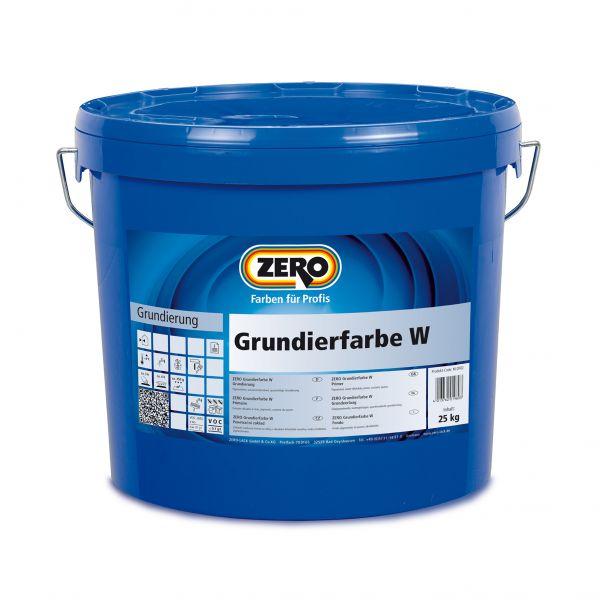 Zero Grundierfarbe W – 25kg