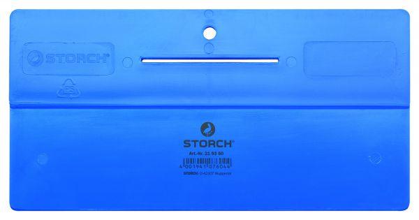 Storch 219350 – Tapezierspachtel mit Schlitz 24 cm