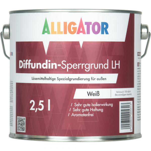 Alligator Diffundin-Sperrgrund LH – 2,5 Liter