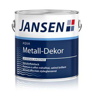 Jansen Aqua Metall Dekor