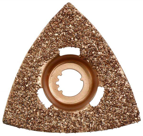 Storch Dreiecksraspel für Akku-VarioTool – 78 x 78 x 78 mm