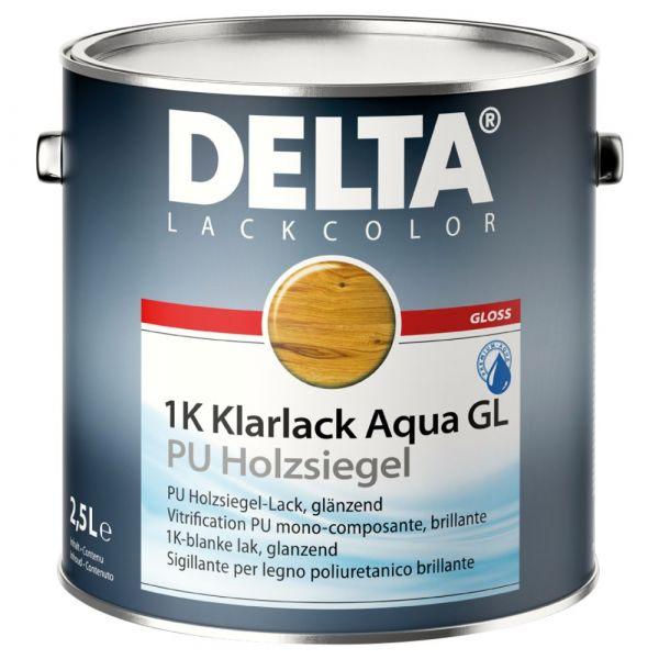 DELTA® 1K Klarlack Aqua GL – 2,5 Liter