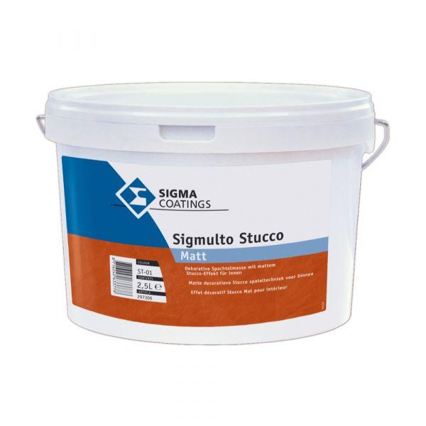 SIGMA Sigmulto Stucco Matt – 2,5 Liter