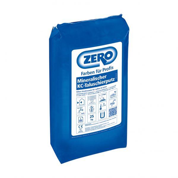 Zero Mineralischer KC Taluschierputz 0,4mm Fasche – 25kg