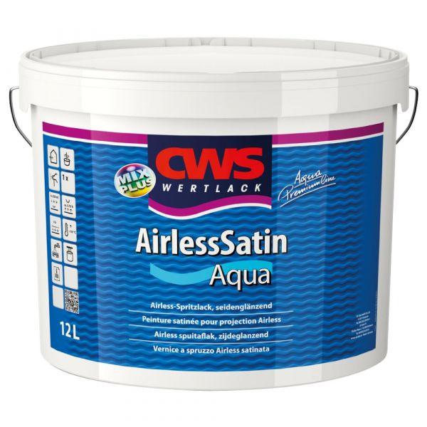 CWS WERTLACK® Airless Satin Aqua Weiß – 12 Liter