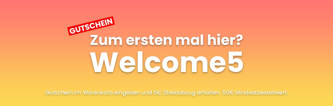 Welcome5 Neukundengutschein Vietschi-Farben