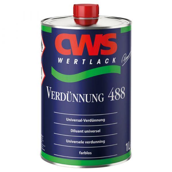 CWS WERTLACK® Verdünnung 488