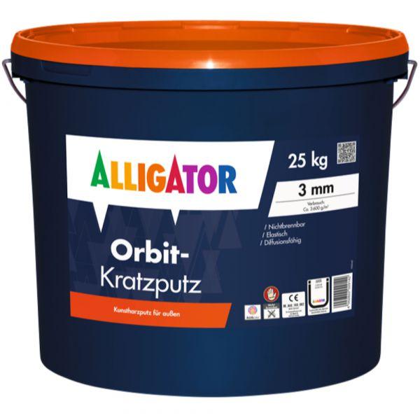 Alligator Orbit-Kratzputz – 25kg
