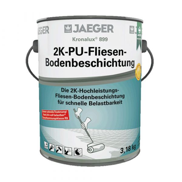Jaeger 899 Kronalux® 2K-PU-Fliesenboden-Beschichtung