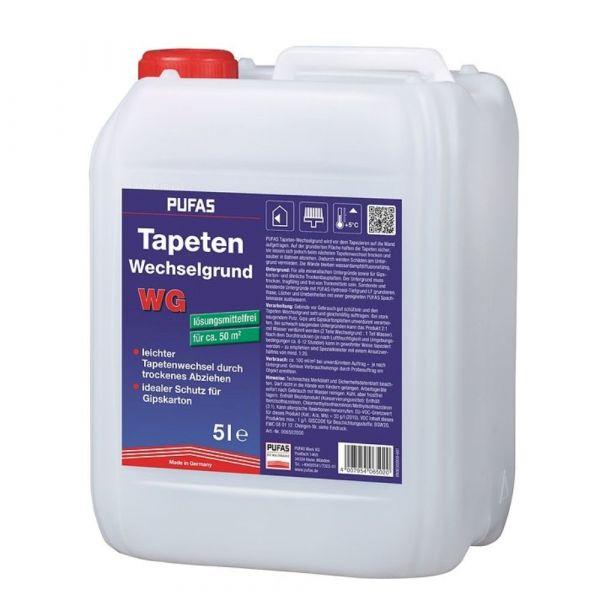 Pufas Tapeten-Wechselgrund WG – 5 Liter