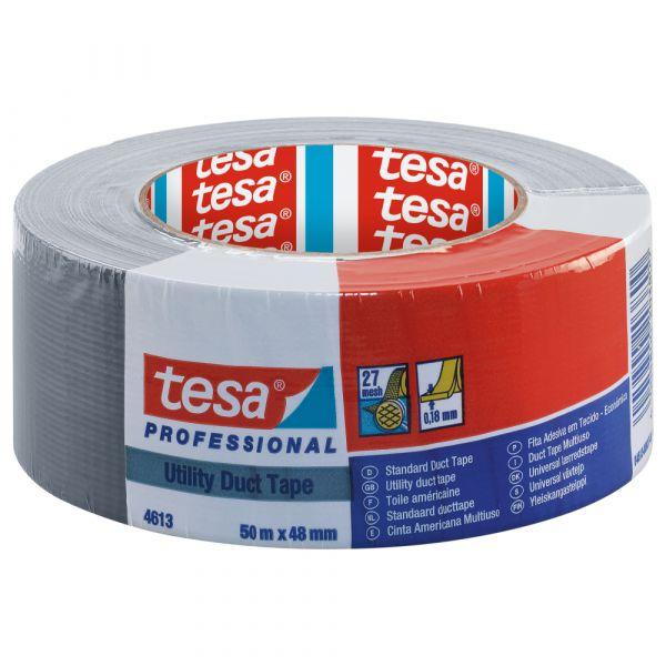 tesa® Standard Steinband 4613 – 48mm x 50m, Silber