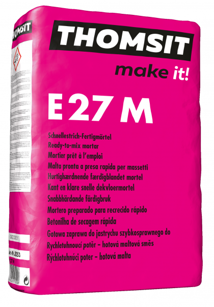 Thomsit E 27 M Schnellestrich-Fertigmörtel – 25kg