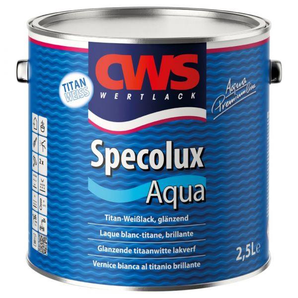 CWS WERTLACK® Specolux Aqua – Weiß