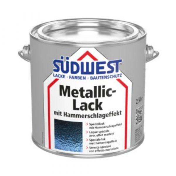 Südwest Metallic-Lack mit Hammerschlageffekt – 0013 Hellgrau