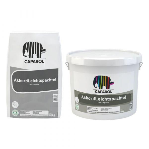 Caparol AkkordLeichtspachtel Sackware – 20kg