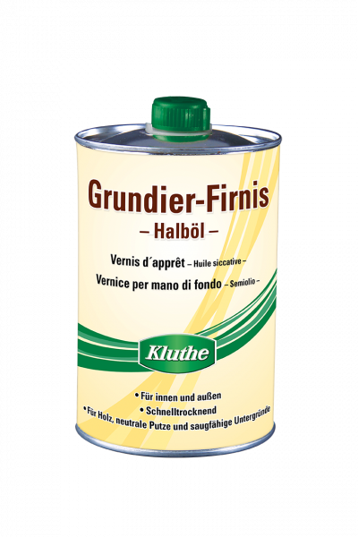 Kluthe Grundier-Firnis-Halböl – 1 Liter