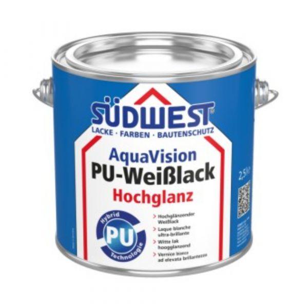 Südwest AquaVision® PU-Weißlack Hochglanz