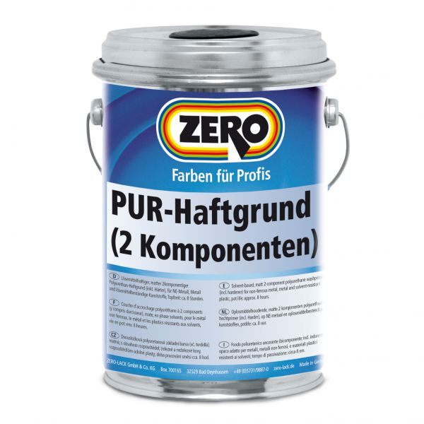 Zero PUR Haftgrund – inkl. Härter