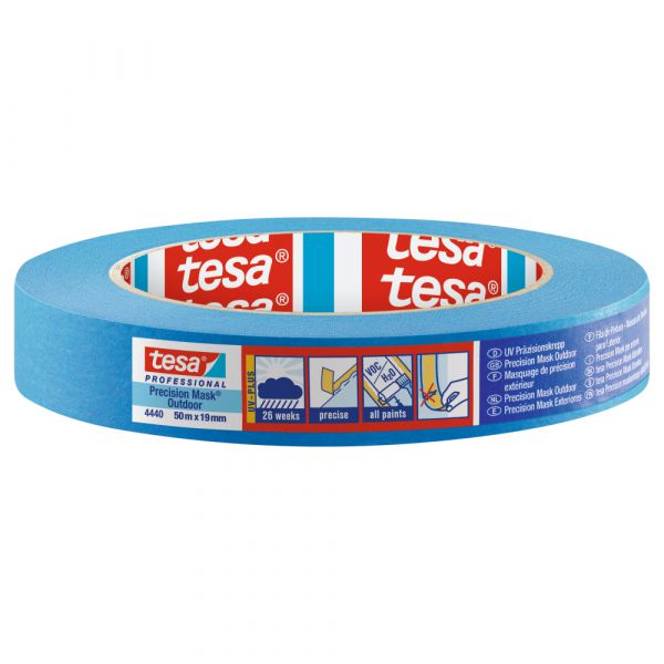 tesa® Präzisionskrepp 4440 – 50 Meter, Blau