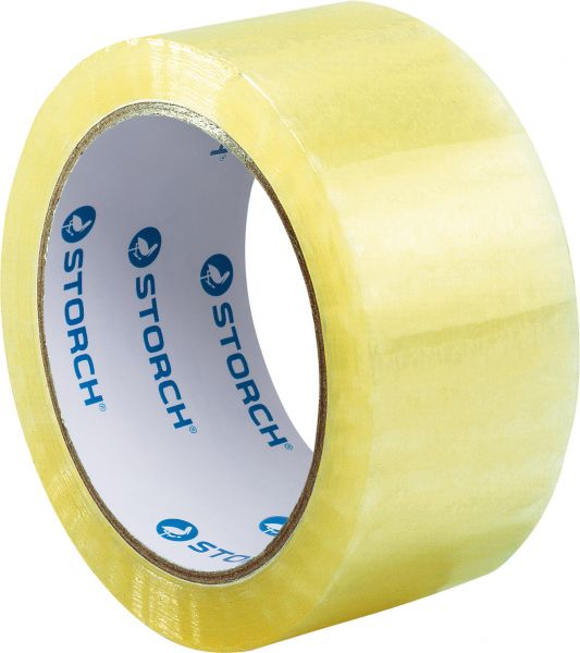 Storch Packband Transparent – 66m x 48mm