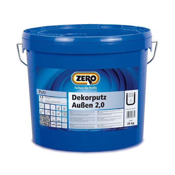 Zero Dekorputz außen – 25kg