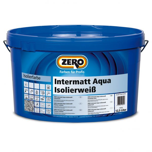 Zero Intermatt Aqua Isolierweiß