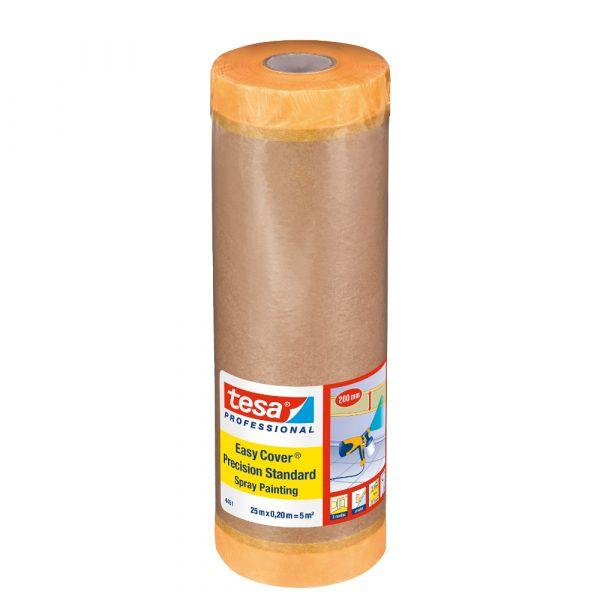tesa® Easy Cover® Spray 4451 – 25m x 200mm, Gelb
