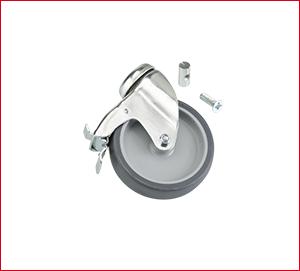 Tapofix Ersatzteil Nr. 48 – Lenkrolle mit Totalfeststeller 100 mm Ø