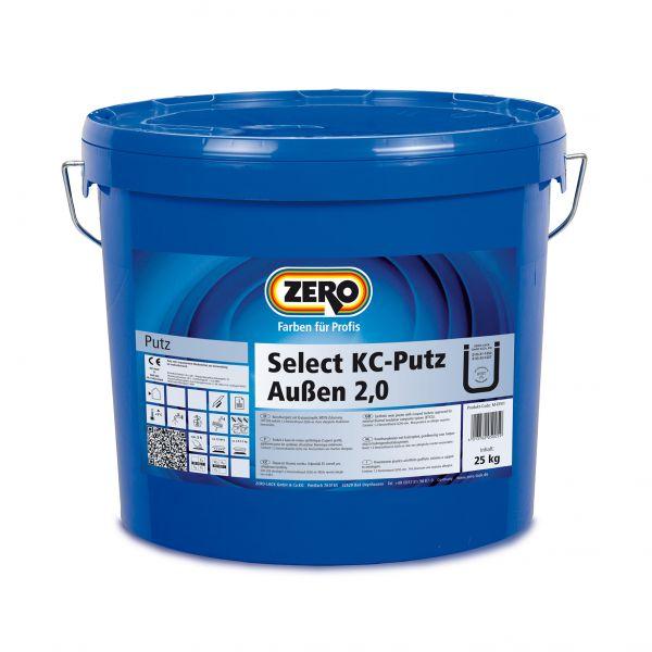 Zero Select KC Putz außen – 25kg