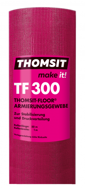 Thomsit TF 300 Thomsit-Floor® Armierungsgewebe – 50m x 1m