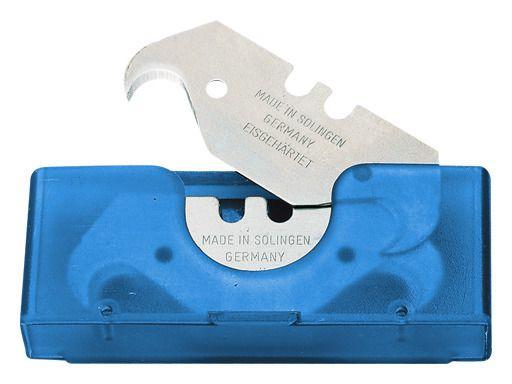 Storch 354165 – Haken-Klingen mit hoher Standzeit, eisgehärtet, 10 Klingen im Dispenser