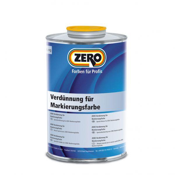 Zero Verdünnung für Markierungsfarbe