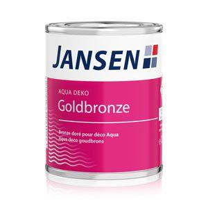Jansen Aqua Deko Goldbronze – 125ml