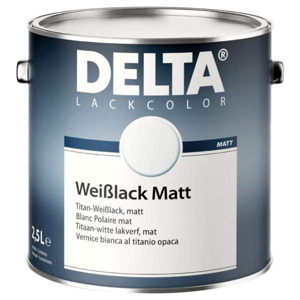 DELTA® Weißlack Matt