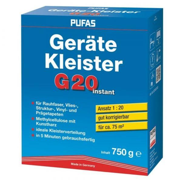 Pufas Geräte-Kleister G20 instant