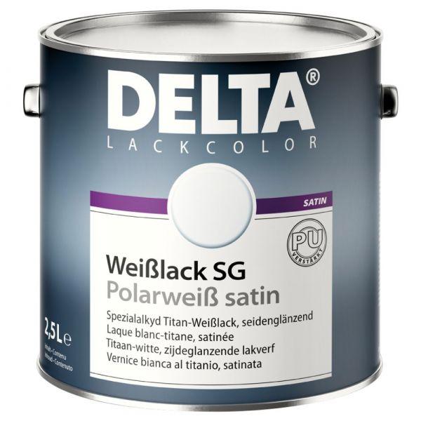DELTA® Weißlack SG / Polarweiß satin