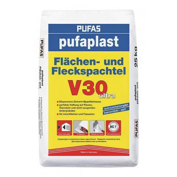 Pufas pufaplast Flächen- und Fleckspachtel V30 ultra