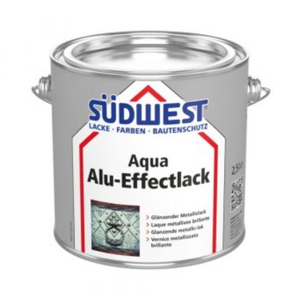 Südwest Aqua Alu-Effectlack – 9318 Brillantsilber (ca. RAL 9006)