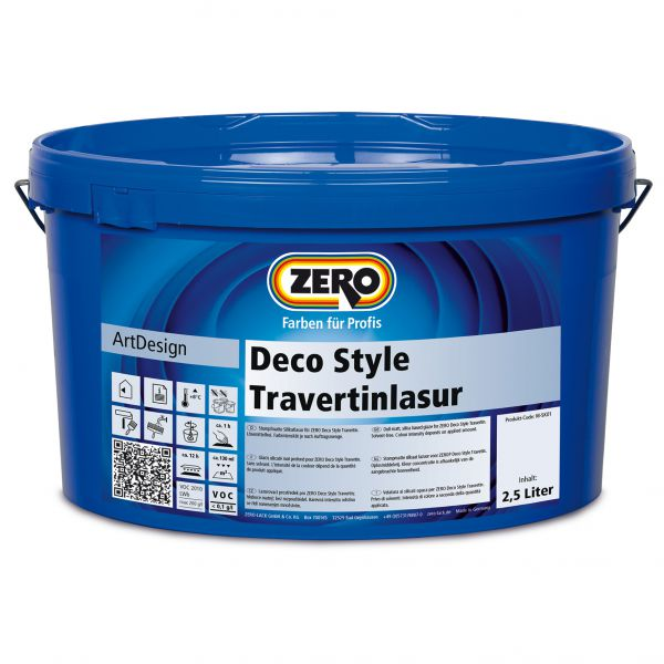 Zero Deco Style Travertinlasur