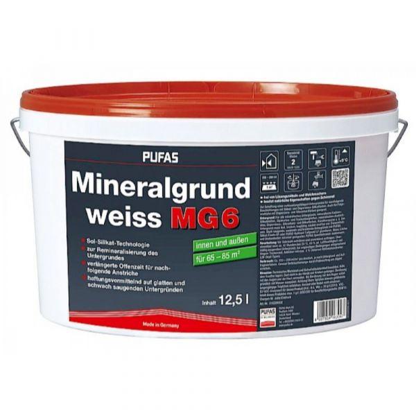 Pufas Mineralgrund weiss MG6