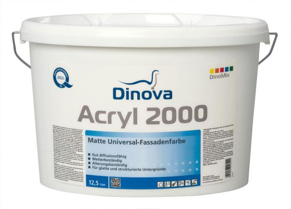 Dinova Acryl 2000 Fassadenfarbe