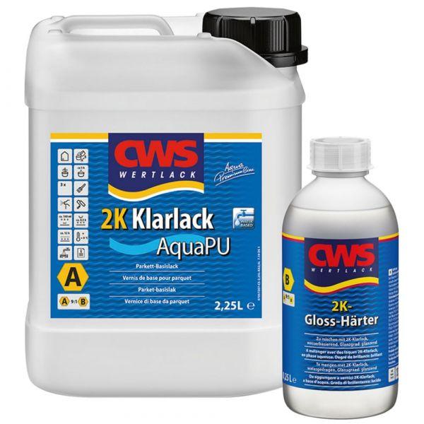 CWS WERTLACK® 2K AquaPU Klarlack Komp. A